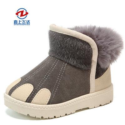 儿童女童防水防滑中大2020雪地靴