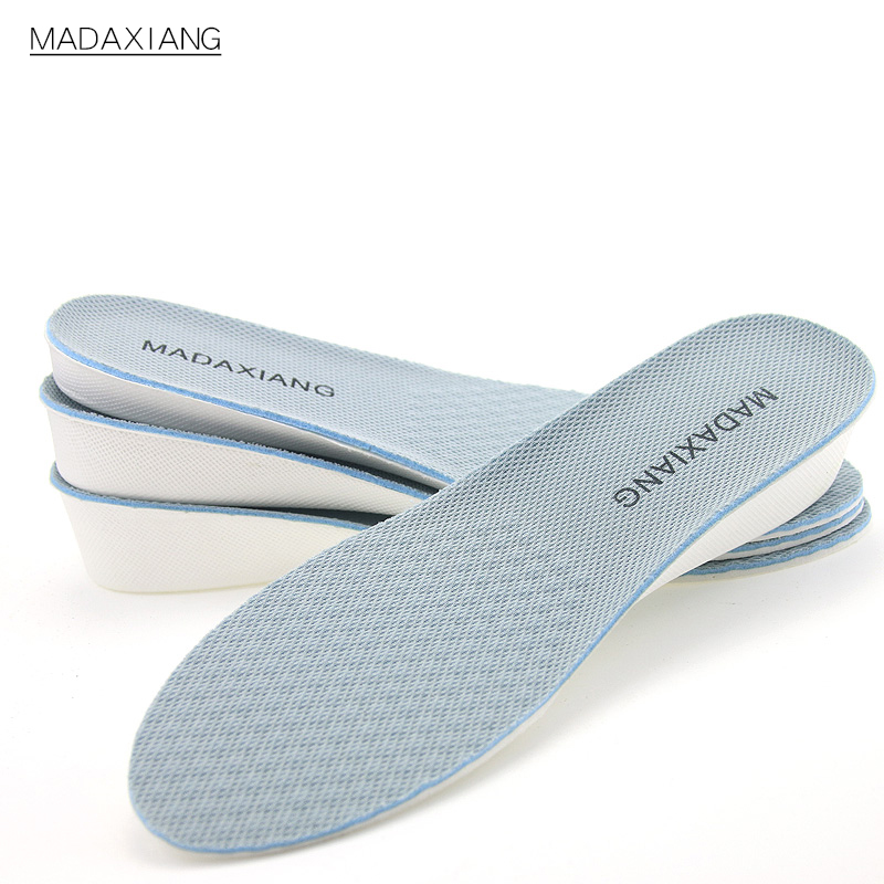 隐形内增高鞋垫男女式舒适运动网面透气增高全垫1.5/2/2.5/3.5cm