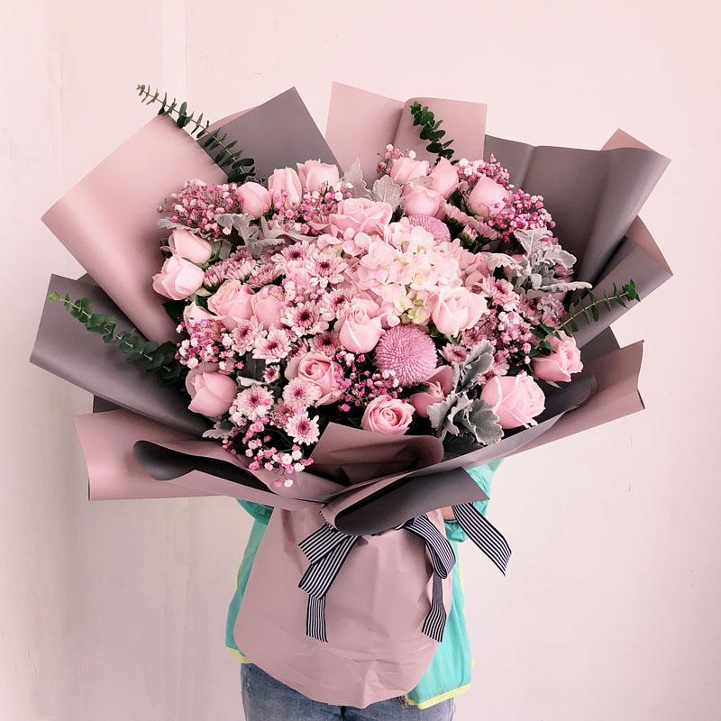 情人节结婚纪念日天津速递同城鲜花