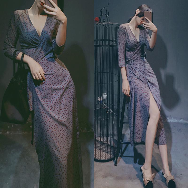 胖妹妹夏装新款大码女装宽松连衣裙限时2件3折