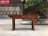 缅甸花梨大果紫檀条案供桌红木住宅家具中堂越南