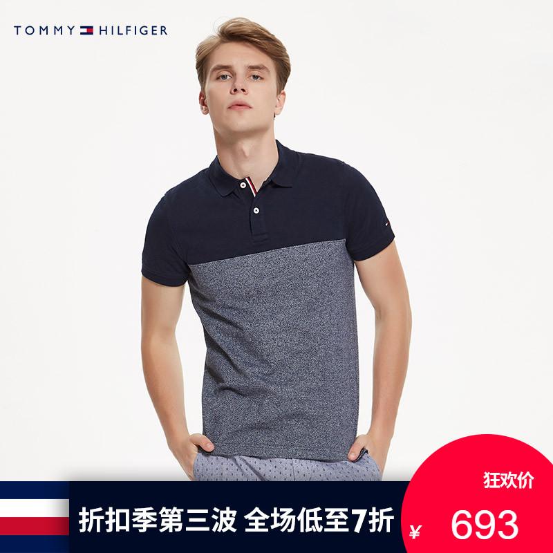 TOMMY HILFIGER男�b2018春夏�L袖POLO衫-MW0MW06191OS