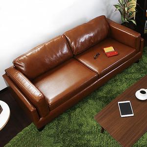 领10元券购买北欧日式经典皮艺简约现代单人沙发