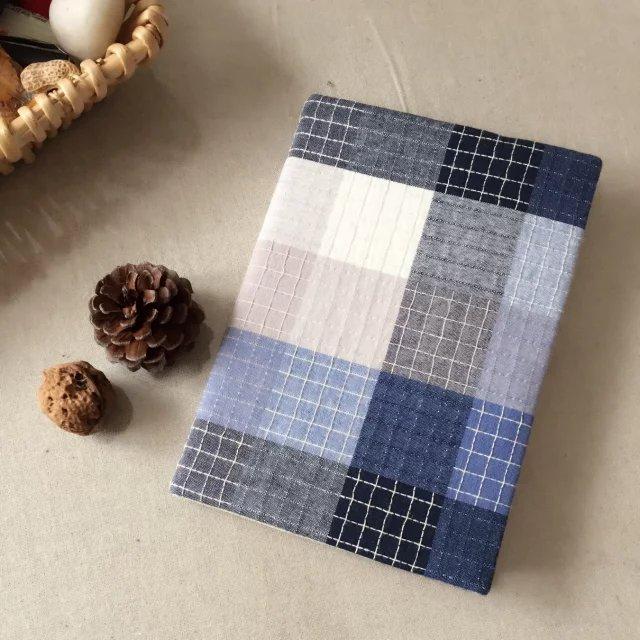 Оригинал зефир ручной работы ткань книги одежда рука счет ткань книга крышка книга печать книга волокно конопля книга одежда