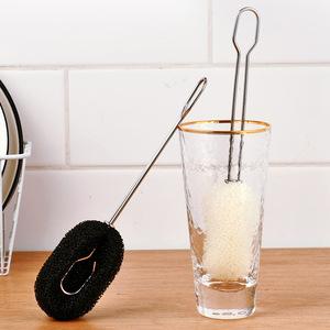 杯刷洗杯子神器长柄无死角海绵保温杯奶瓶刷婴儿厨房用品家用大全