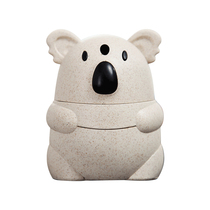 Hand pressure automatic Toothpick barrel home Koala cute toothpick box wheat pressurized living room creative toothpick can portable