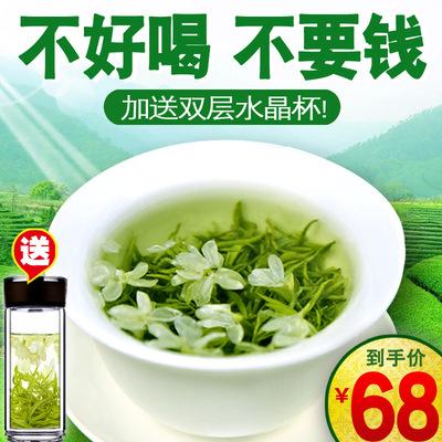 【1斤1大罐】浓香型茉莉花茶2020新茶特级散装横县花茶绿茶叶500g