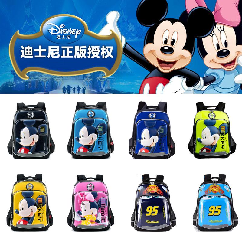 迪士尼��包小�W生男童�p肩包1-3年�米奇��包6-12周�q�和���包女