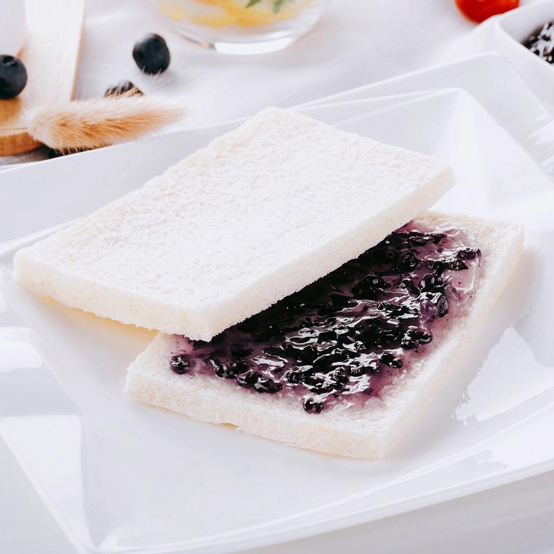 (用45.6元券)新鲜紫米面包520g营养早餐黑米夹心奶酪夹心食品整箱