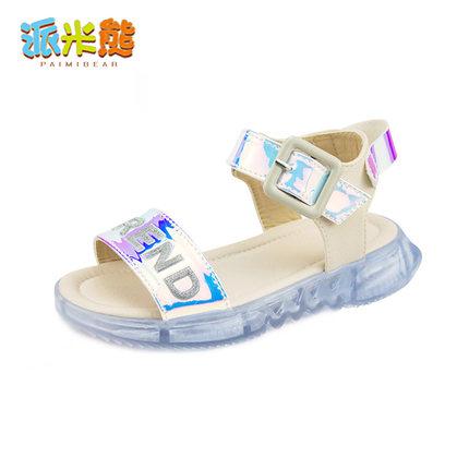 女童2019夏季新款儿童韩版亮片凉鞋