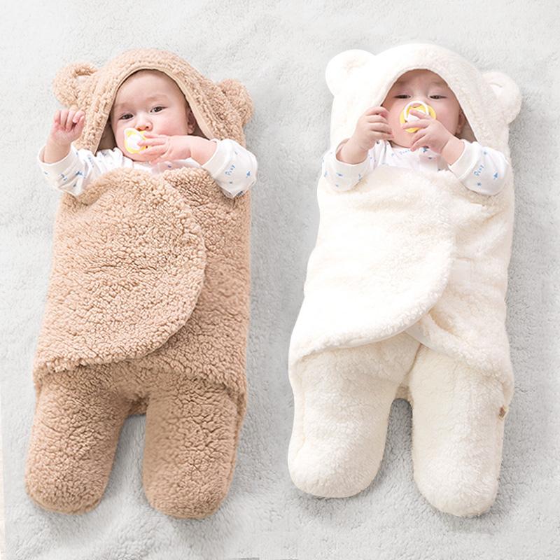 初生婴儿抱被新生儿用品包被纯棉春秋睡袋秋冬加厚宝宝襁褓防惊跳