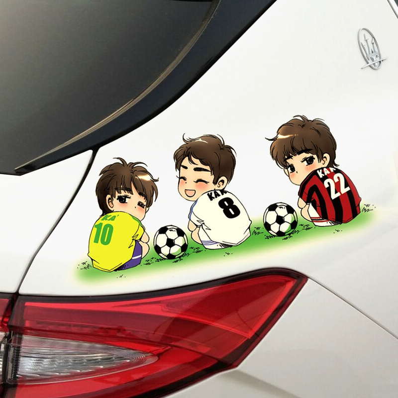 Car 3D Stereo Engine Cover Decoration Creative Lapping Sticker Bumper Body Scratches to Occlude Personal Car Sticker