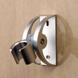喷头花洒支架太空铝可调节打孔底座铝合金淋浴固定挂座通用配件图片