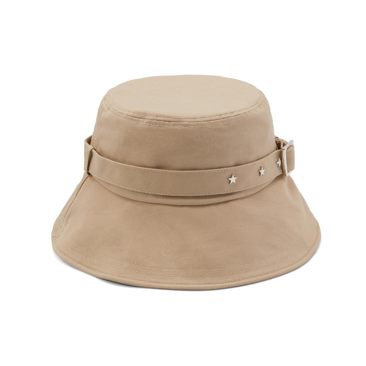 阿吉豆复古铆钉系列休闲渔夫帽遮阳盆帽子