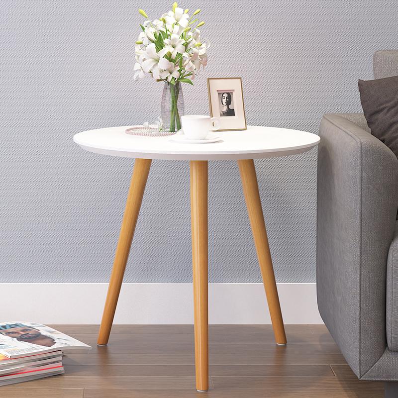 Кофейный столик простой современный небольшой стол сторона круглый короткая стол мобильный маленький столик обеденный стол случайный угловой кофе стол
