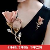 韩国花苞胸花胸针领针优雅气质创意大气时尚简约别针装饰配饰品女
