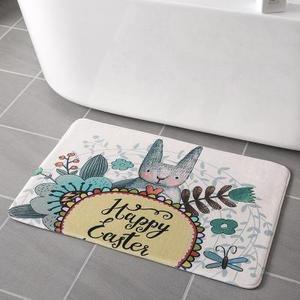 可爱卧室地垫吸水地毯式门垫踩脚门垫房间地垫浴室房门口卡通防滑