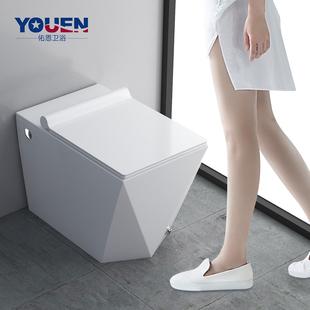 佑恩卫浴 电动座便器马桶无水箱小户型节水坐便器家用卫生间 浴室