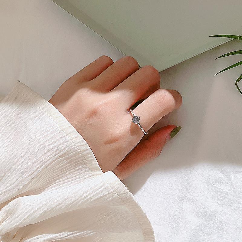 月光石戒指
