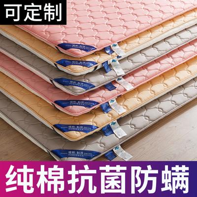 全棉防滑床垫子软垫榻榻米加厚床褥1.2米1.5褥子垫被双人家用定制