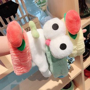 洗脸束发带女韩国简约绑头套发箍