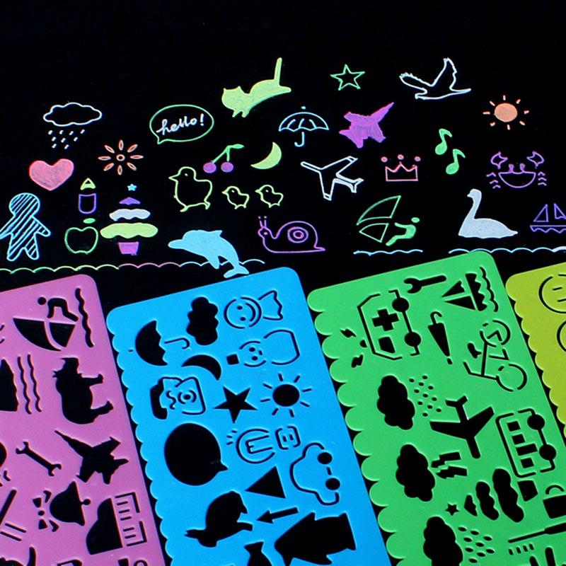 Diy ручной работы альбомы производство монтаж материал инструмент живопись шаблон тема кружево правитель пирсинг живопись плесень издание