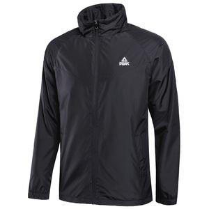 匹克外套男装2021春夏季新款男士梭织速干防风衣休闲运动夹克冲锋