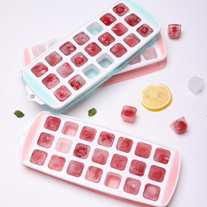 冰块模具带盖个性创意软底硅胶冰格制冰盒家用自制冻空心冰神器10-10新券