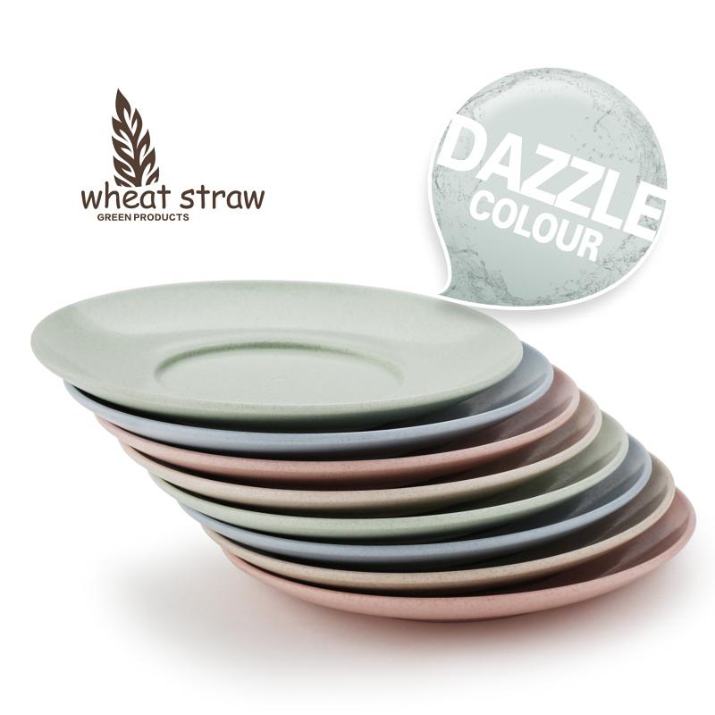 小麥 彩色小盤子點心碟子 裝骨頭的菜碟調味碟 日式塑料餐具