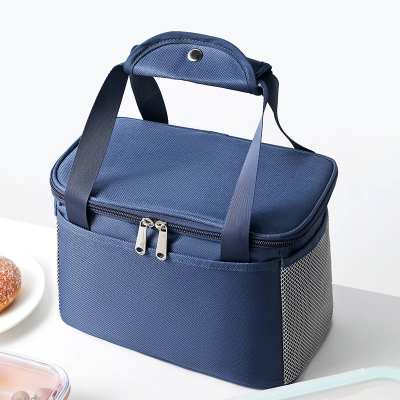 Insulation bag aluminum foil thick waterproof office worker with lunch box lunch bag large capacity portable lunch box bag