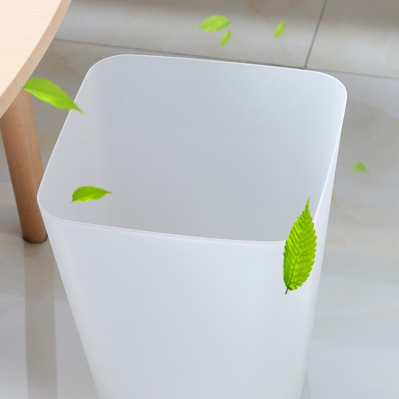 北歐歐式垃圾桶卧室個性客廳創意時尚簡約無蓋筒網紅簍家用塑料筐