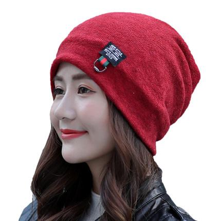 韩版保暖双层韩国潮月子帽包头帽