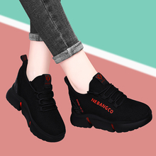 Inside heightening women's shoes 2020 new spring shoes women's slope heel shoes all kinds of sports shoes tourism women's fashion leisure shoes spring