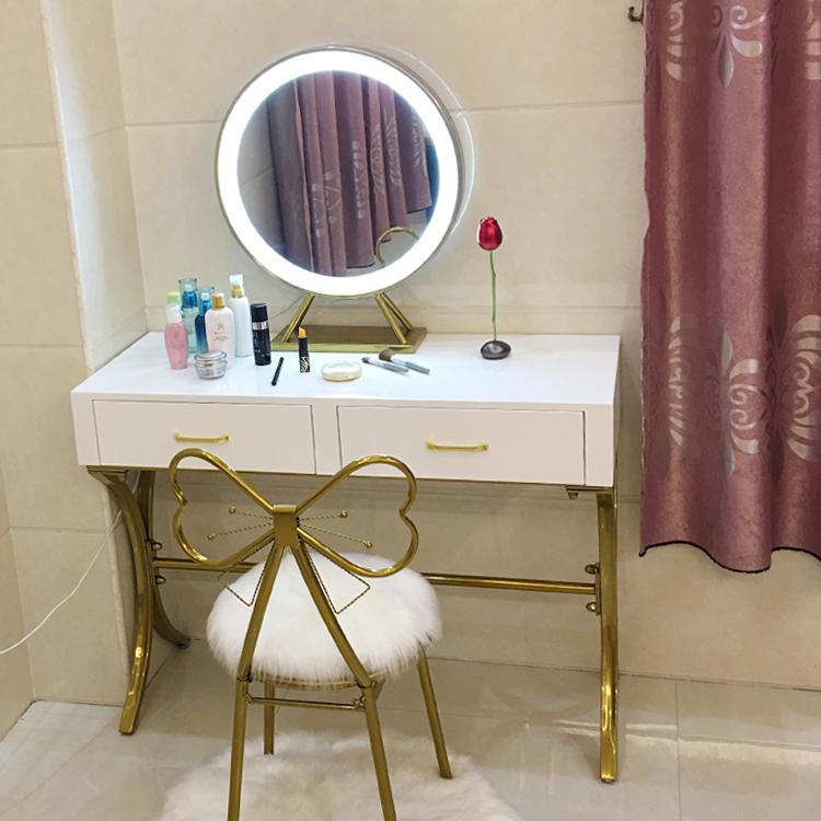 北欧梳妆台收纳柜一体卧室迷你小户型ins化妆桌简约欧式公主奢华券后650.60元