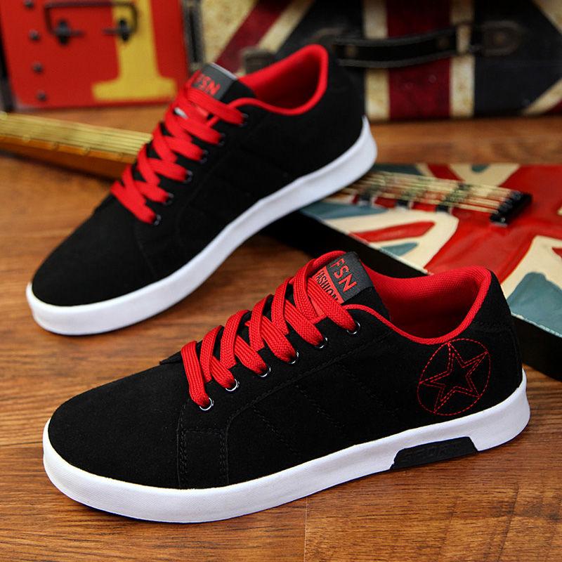 四季新款男鞋子男士运动青年休闲鞋韩版百搭潮流板鞋学生男生布鞋