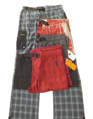Foreign trade Europe and America single spring and summer hip-hop trousers retro multi-pocket lattice wide-leg hip-hop hip-hop straight casual overalls