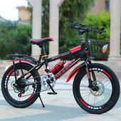 儿童自行车男孩20寸8-9-10-11-12岁15童车中大小学生山地碟刹单车