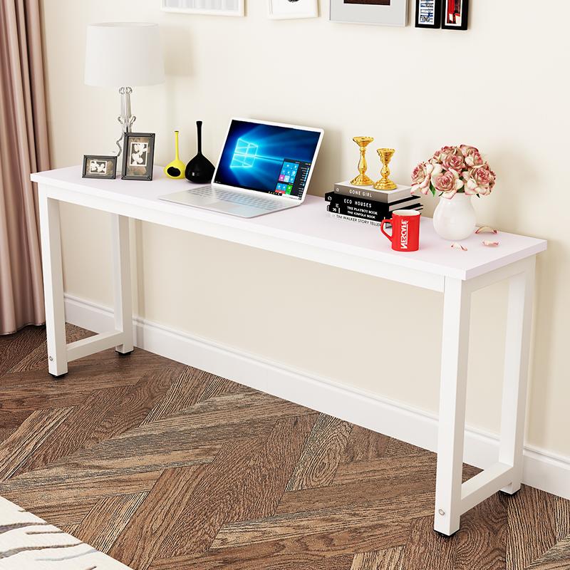 靠墙窄长方形小家用宜家长桌长桌子