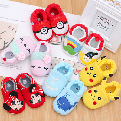 Baby shoes 0-6-12 months soft bottom breathable newborn can not afford shoes baby shoes 0-1 school shoes spring and autumn