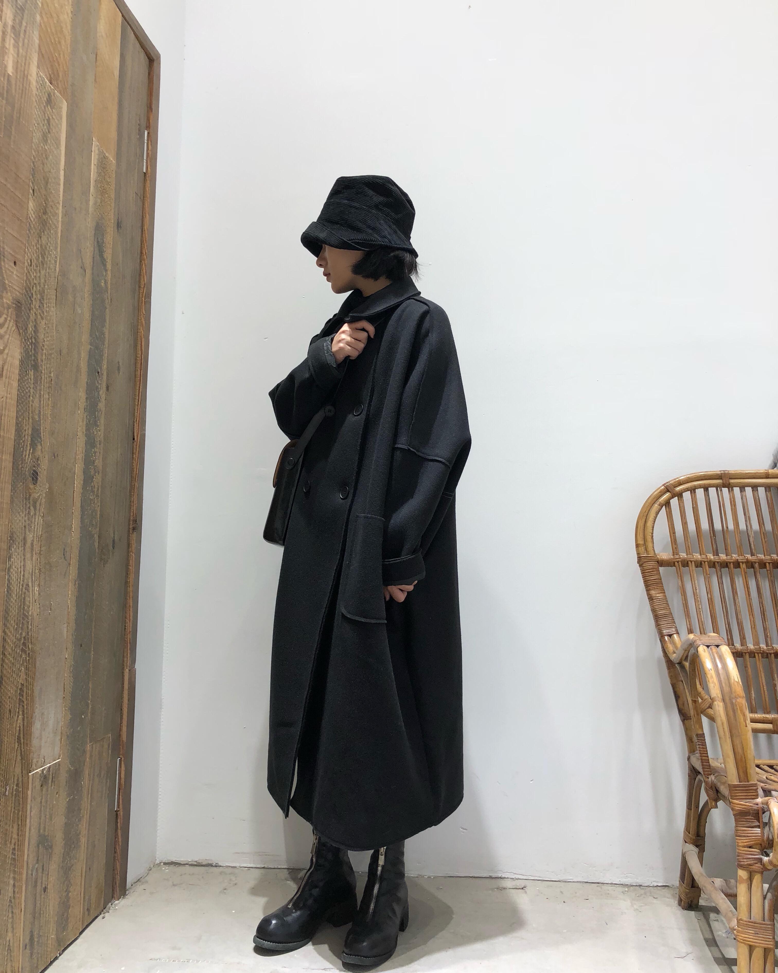 拖延症 / 暗黑山本风 oversize廓形大衣外套