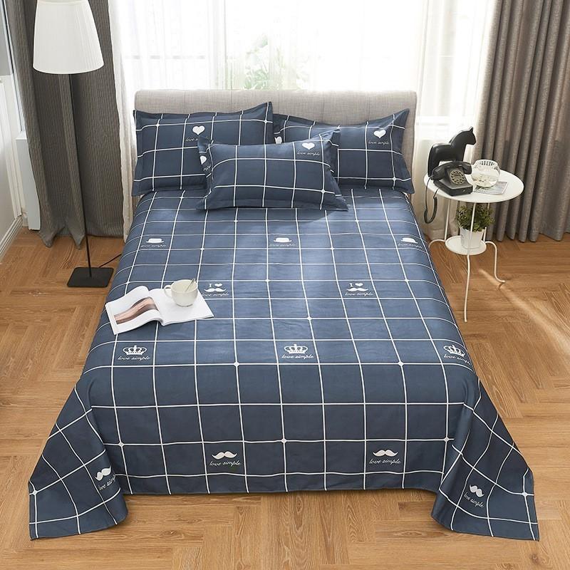 タオバオ仕入れ代行-ibuy99|床上用品|。垫单床上用品床单单件棉加大加宽加长2米双人床柔软秋冬床盖高