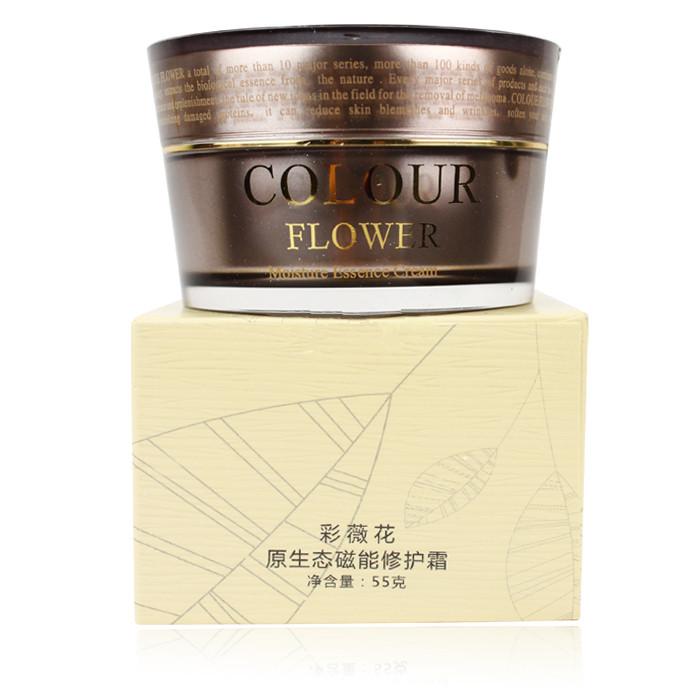 上海彩薇花化妆品 原生态磁能修护霜 美容保湿滋润日霜面霜