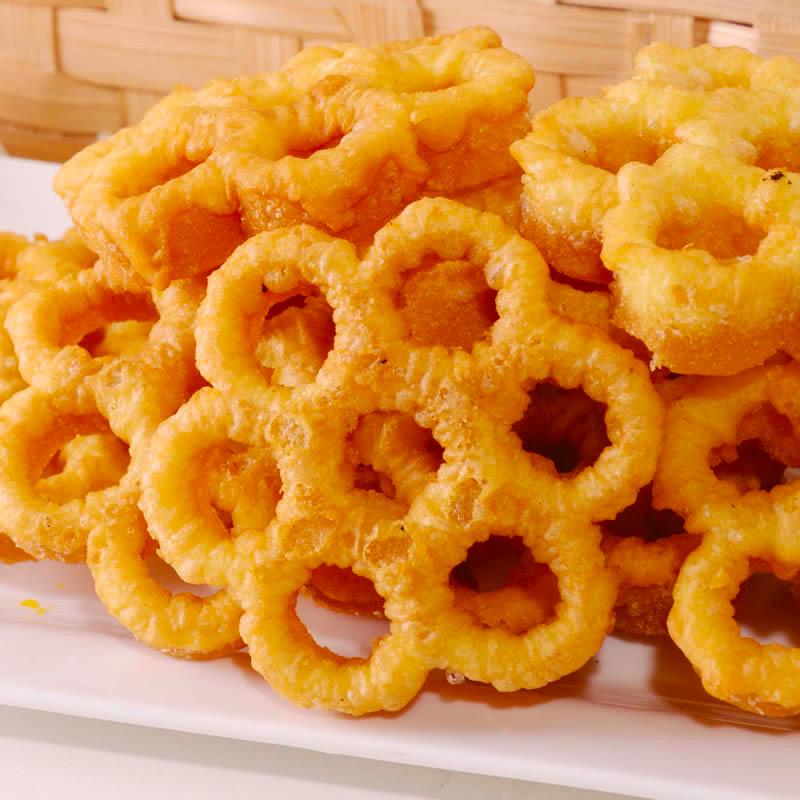 潮汕特产零食品炉窗土炭梅花饼传统梅花酥儿时回忆经典怀旧美食