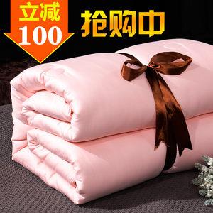 手工蚕丝被100%桑蚕丝春秋被子冬被加厚保暖被单人双人被芯子母被
