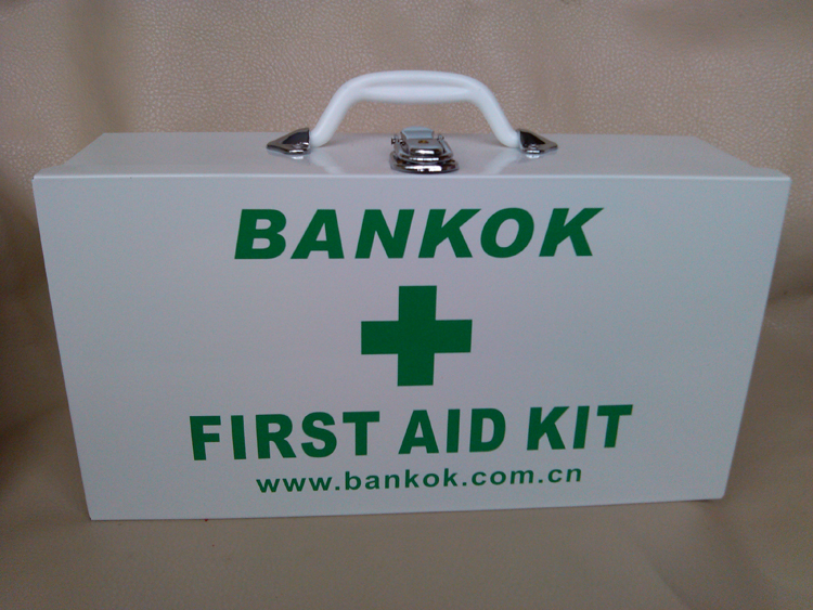First aid kit household portable health care kit medical aluminum alloy wall mounted factory hospital medical kit