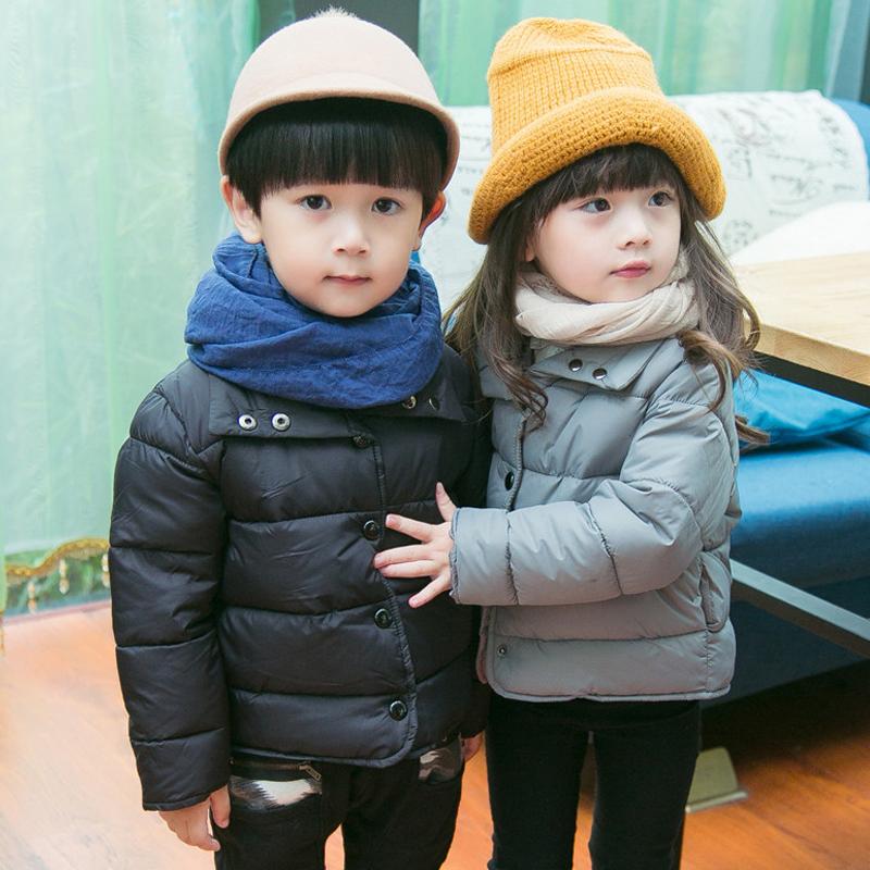 Каждый день специальное предложение ребенок зима хлопок ребенок ватник зима мальчиков и девочек, пальто утолщенный с хлопком ребятишки подбитый волна