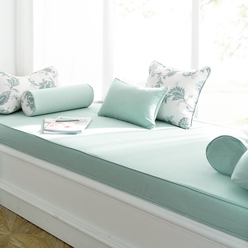 飘窗垫窗台垫定做北欧阳台垫榻榻米定制高密度海绵沙发垫子