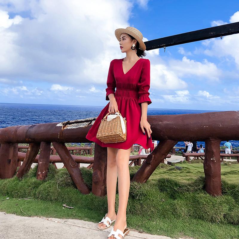 普吉岛海南三亚女海边度假沙滩裙限10000张券