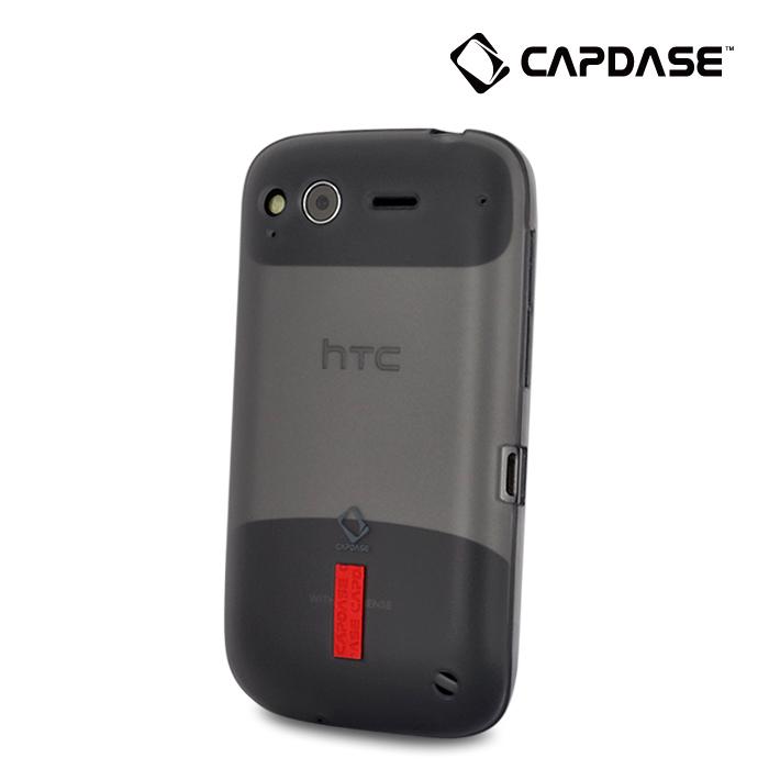 CAPDASE/卡登仕HTC手机壳 G12保护套s510e 玲珑套金属战士正品+膜