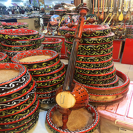 /新疆母卡木演奏团专用乐器长80厘米艾捷克手工制作礼品/包邮图片